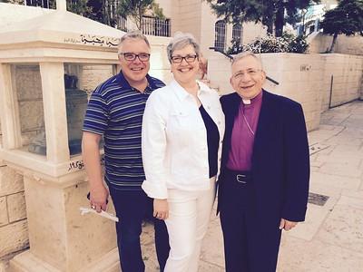 Bishop Younan Meets with the ELCIC Bishops