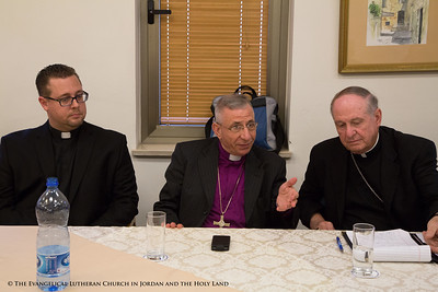 Bishop Younan Represents CRIHL With The United States Conference of Catholic Bishops