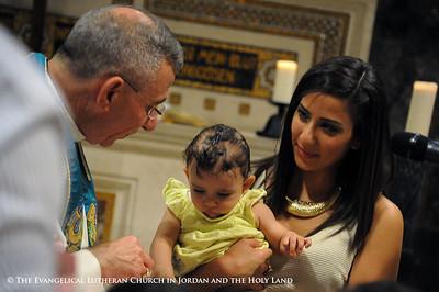 Lour Younan's Baptism