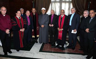 Meeting with the Grand Imam of Al-Azhar Sheikh Sharif