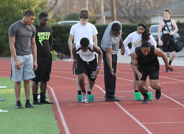Track Practice 01-31-12