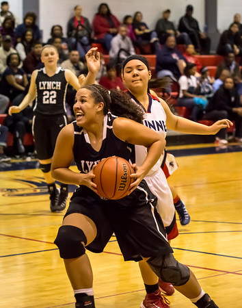 Lady Friars Basketball vs Bishop Dunne 01.03.14