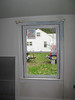 Another insdie look at new replacment window in the living room.