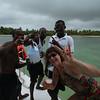 Dominican Republic - Brenda with the  Boyz