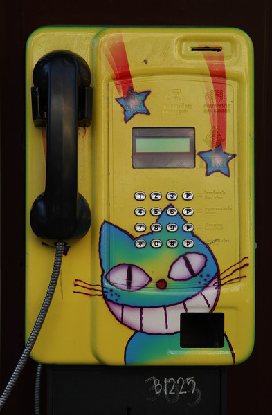 Happy Cat Phone<br /> Chiang Mai, Thailand 2007