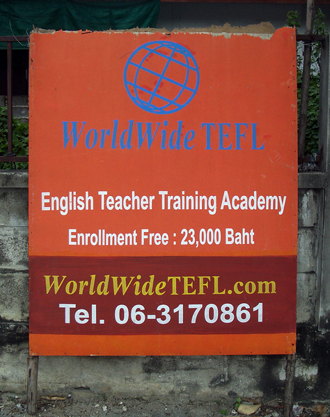 "23,000 baht isn't free whichever language you're speaking.  Pity the poor kids who face graduates from this ""Academy""...."