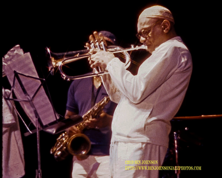 Johnny Coles - Atlantic City Jazz Festival 1981