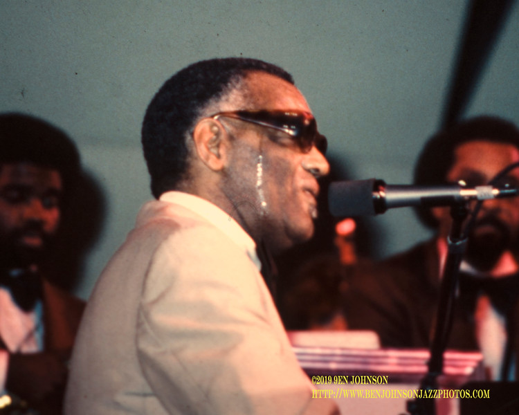Ray Charles - Atlantic City Jazz Festival 1979
