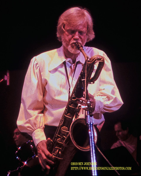 Gerry Mulligan - Atlantic City Jazz Festival 1981