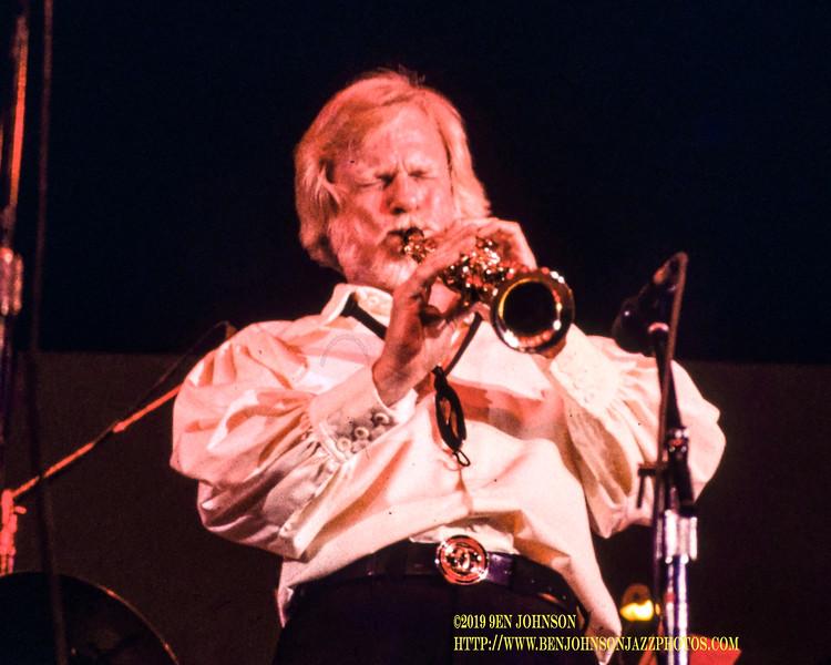 Gerry Mulligan Atlantic City Jazz Festival 1980