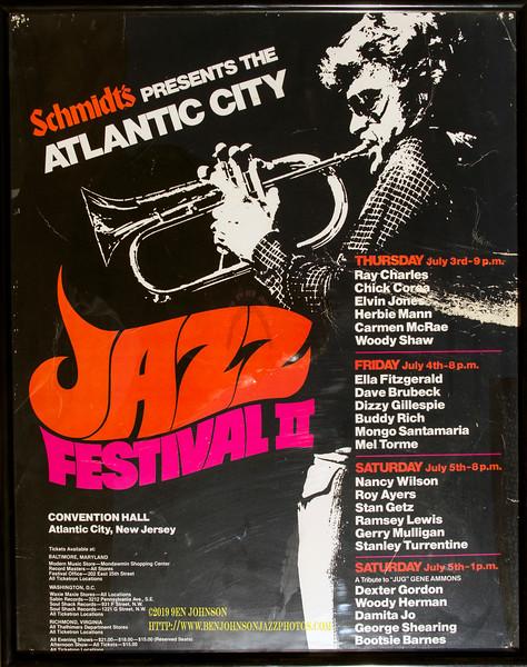 Poster - Atlantic City Jazz Festival 1981