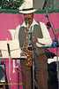 Sonny Fortune performing at The Mellon Jazz Festival in Brandywine Pennsylvania in August 1986.