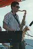Saxophonist performing at The Mellon Jazz Festival Penns Landing in Philadelphia 1986