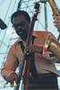 Tyrone Brown performing at The Mellon Jazz Festival Penns Landing in Philadelphia 1986