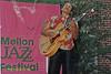 Monnette Suddler performing at The Mellon Jazz Festival in Brandywine Pennsylvania in August 1986.