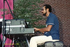 Stanley Cowell performing at The Mellon Jazz Festival in Brandywine Pennsylvania in August 1986.