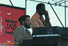 Bill Meek and  Tyrone Brown performing at The Mellon Jazz Festival Penns Landing in Philadelphia 1986.