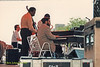 Tyrone Brown and  Bill Meek performing at The Mellon Jazz Festival Penns Landing in Philadelphia 1986