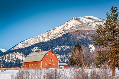 Barn at Bass Creek - Stevensville, Montana