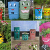 "I think this would be a GREAT idea for a city to have a contest to paint barrels (used ones could probably be donated - recycling!) & use them as trash cans around the city (that are picked up regularly) & some could use them for planters - neighborhood beautification while helping the environment!  <br /> <br /> The cans could have ""Sponsored by___"" on it & maybe charge something & make it a fundraiser!<br /> <br /> I like this concept better than those big painted expensive birds or pigs some cities have done!!!  <br /> <br /> What do you think???"