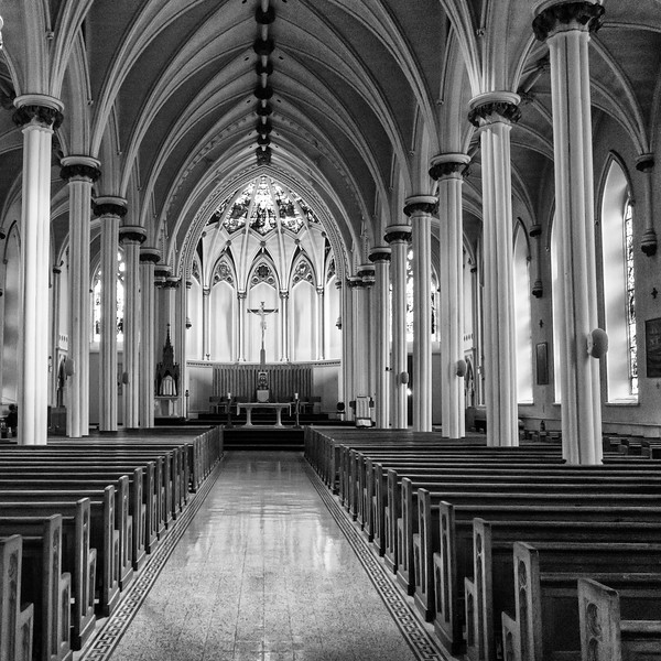 Halifax - St. Mary's Cathedral Interior 1 - 9/15/14