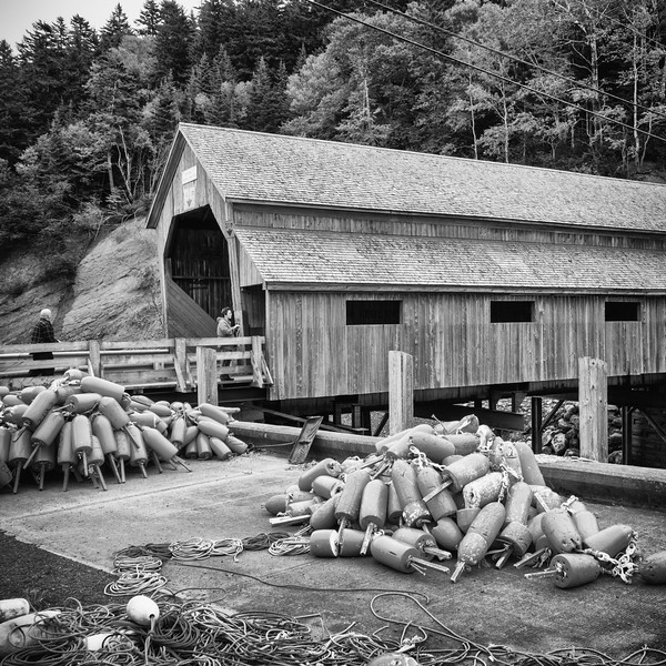 St. Martins Village - Lobster Buoys & Covered Bridge 9/16/14