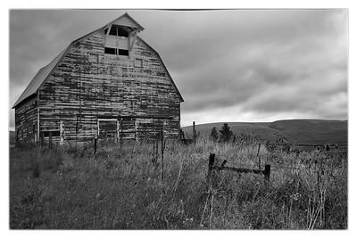Old Barn Palouse photo