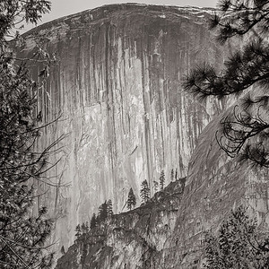Half Dome close up