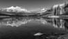 Lake McDonald Winter Reflections