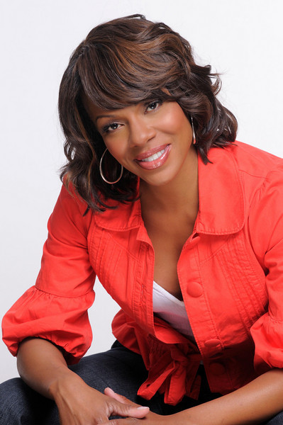 Wendy Raquel Robinson, actress and owner of Amazing Grace Conservatory is the Expo celebrity spokesperson.  <br /> <br /> Photo copyright Leroy Hamilton.