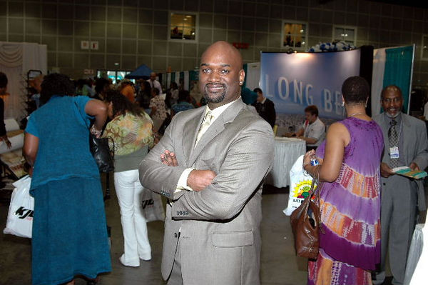 Kenneth Adams, Representing Farmers, Expo Premier Sponsor, has participated in the Expo for many years.