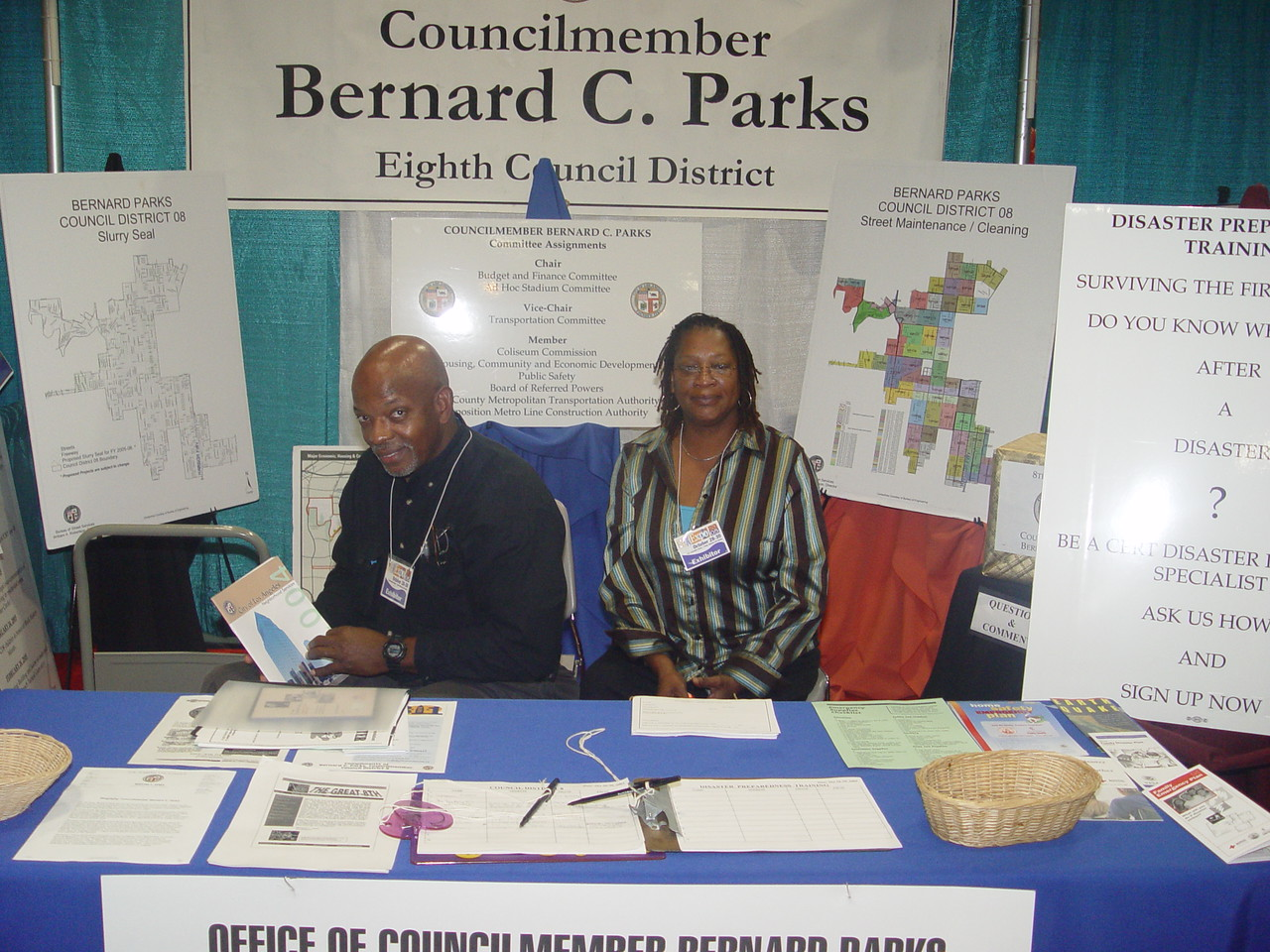 City of Los Angeles was a premier sponsor through the offices of Councilpersons Jan Perry and Bernard Parks.<br /> <br /> Photo by Lauren Bradley