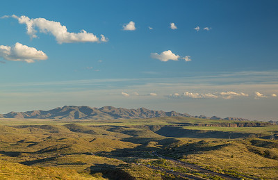 New River Mountains, Black Mesa, Agua Fria River Canyon; south from Bloody Basin Rd exit
