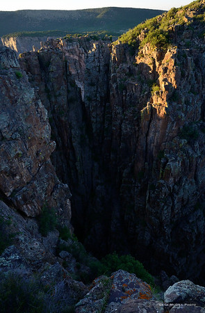 Black Canyon, South Rim, August 12, 2016