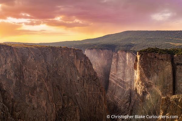 Narrows Sunset - Black Canyon
