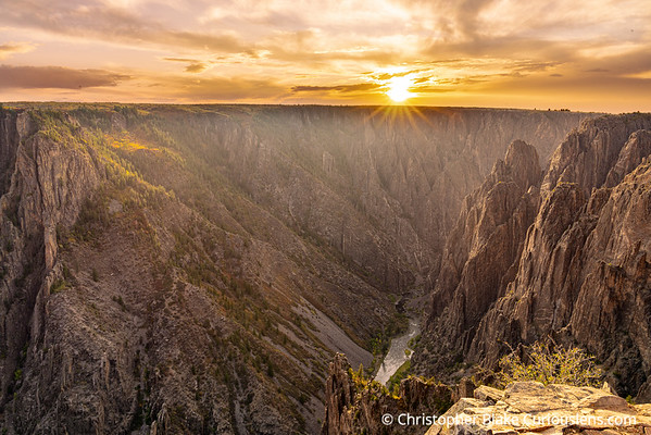 Black Canyon of the Gunnison - Sunset