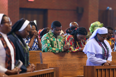 African Catholic celebration