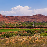 The East View from Conservation Hill Overlooking Entrada