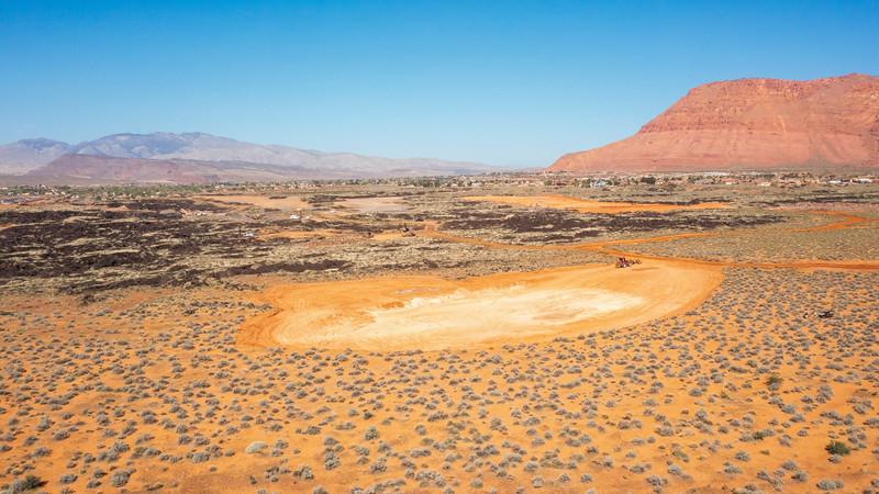 Black Desert Fly Over, 9 April 2021