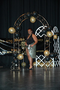 """""""Egyptian Queens of the Nile""""  Black and Gold Pageant  WSU CAC Theater Dec 9, 2006."""