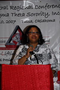 Introduction of Dais: Honorable Anne-Marie Clarke, Social Action Commissioner
