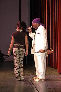 "Greek Unity Association ""Wreckin The Yard"" Step Show.  Wichita, Kansas April 22, 2006."