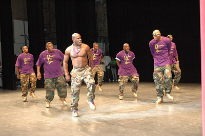 "Greek Unity Association ""Wreckin The Yard"" Step Show.  Wichita, Kansas April 22, 2006."