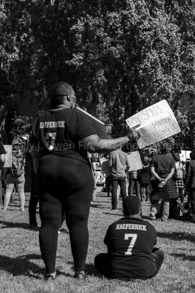 June 6, 2020, Black Lives Matter Protest, Berkeley, CA