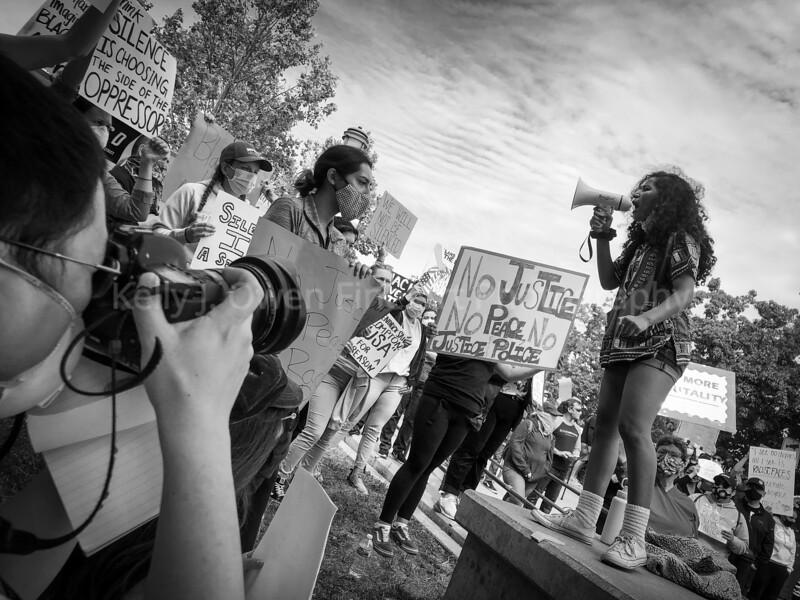 Black Lives Matter protest, May 31, 2020, Napa, CA