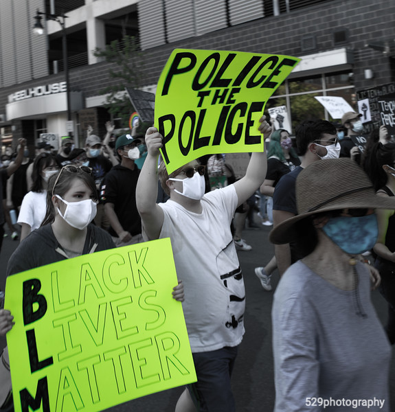 Police the police.