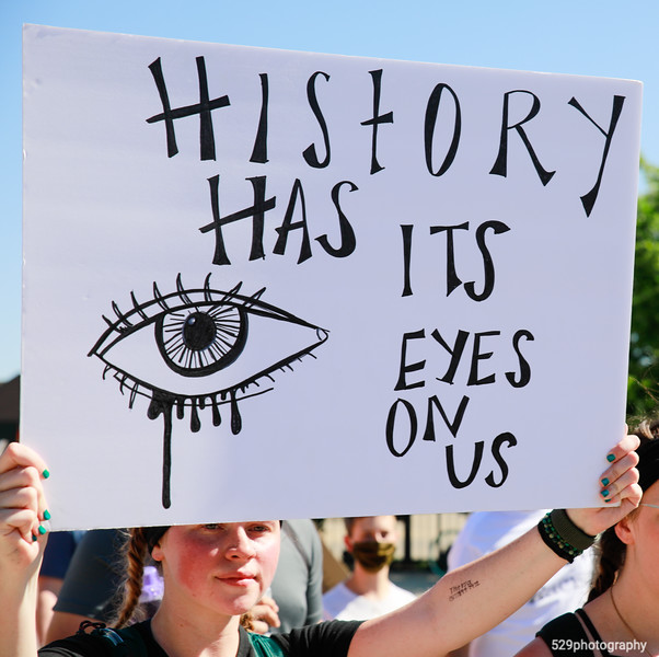 History has its eyes on us.