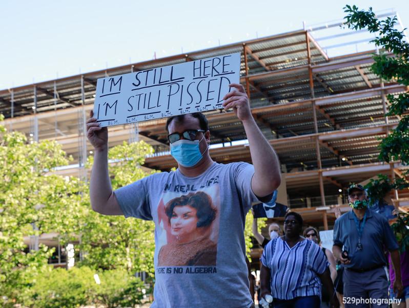 I'm still here. I'm still pissed.