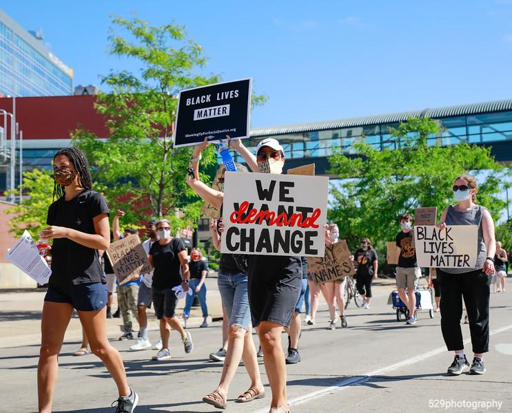 We demand change.