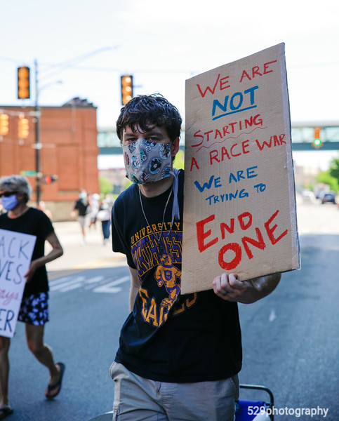 We are not starting a race war, we are trying to end one.